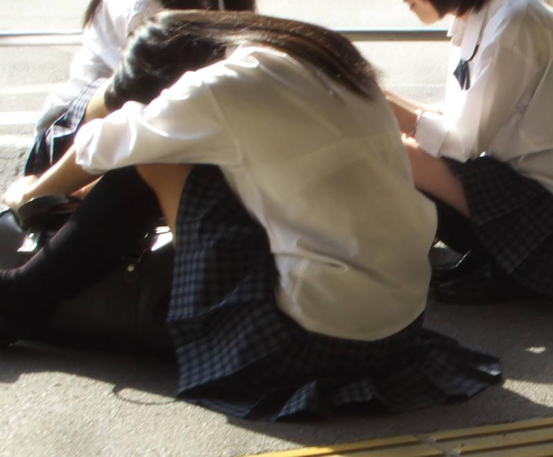 透けブラ_JK_夏服_盗撮_エロ画像_08