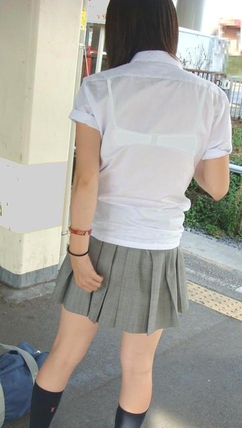 透けブラ_JK_夏服_盗撮_エロ画像_15