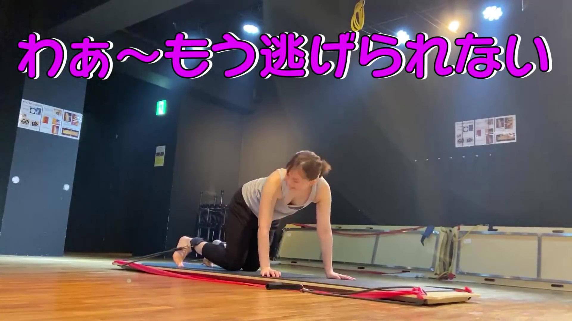 山本雪乃_胸チラ_おっぱい_タンクトップ_youtube_07