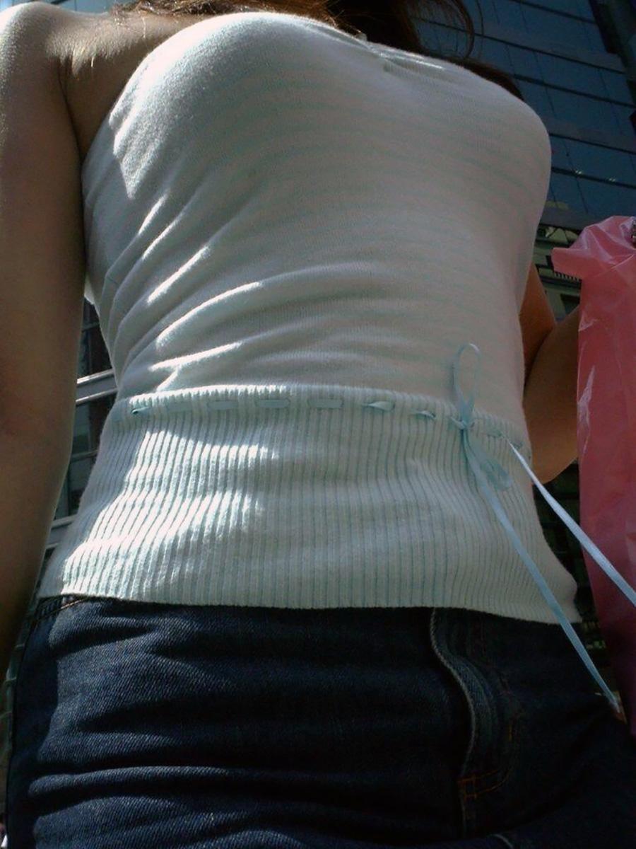 着衣巨乳_おっぱい_素人_街撮り_エロ画像_10