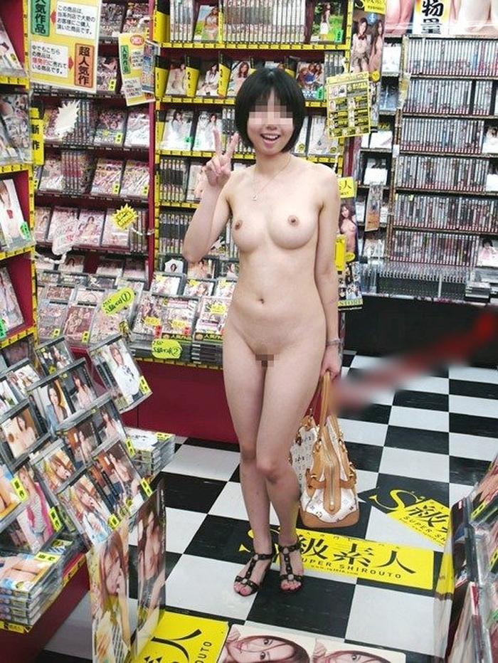 店内露出_素人_変態_女体_エロ画像_09