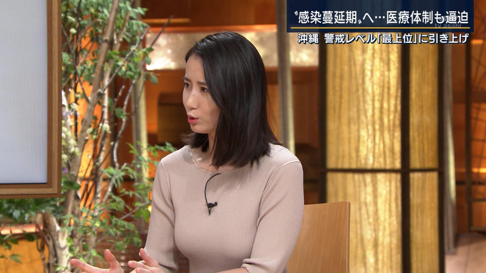 森川夕貴_女子アナ_横乳_報道ステーション_21