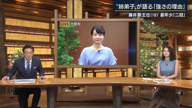 森川夕貴_着衣巨乳_おっぱい_報道ステーション_14