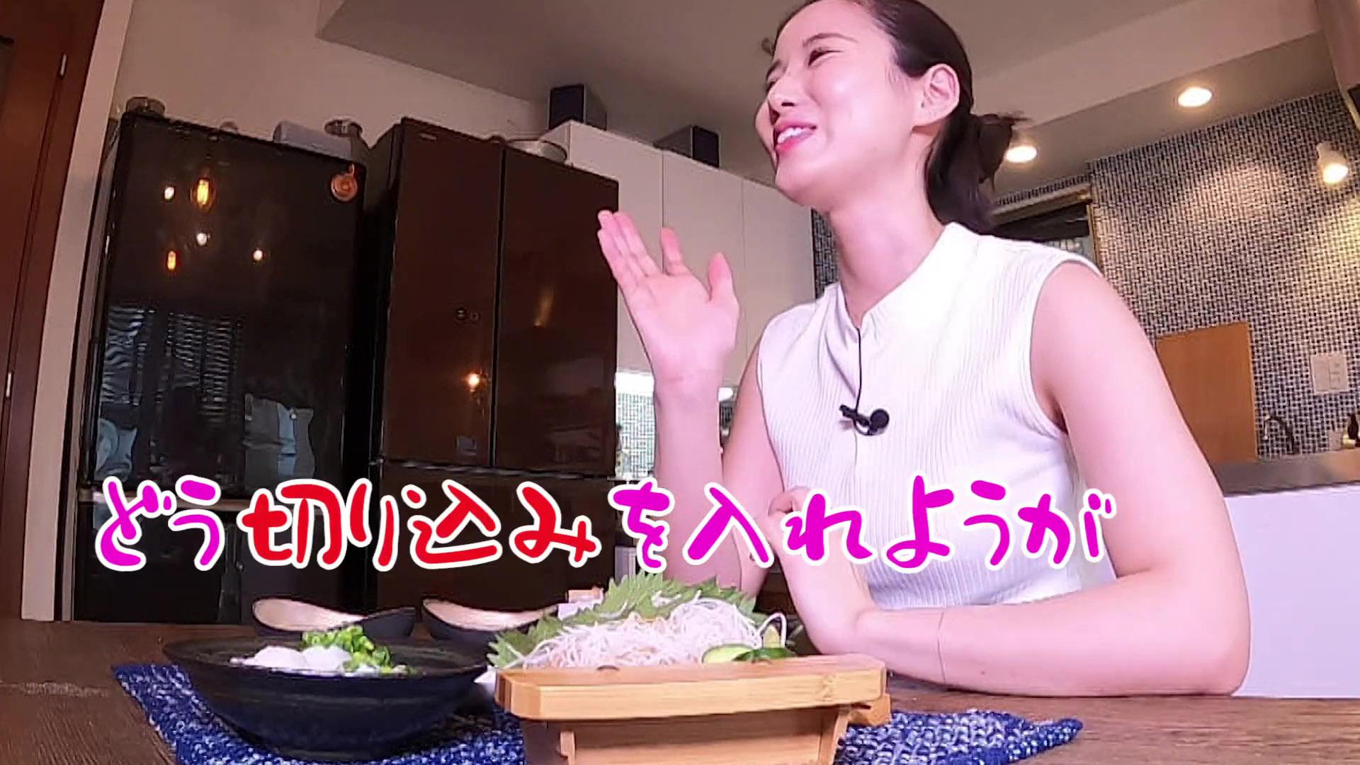 森川夕貴_ノースリーブ_着衣巨乳_youtube_29