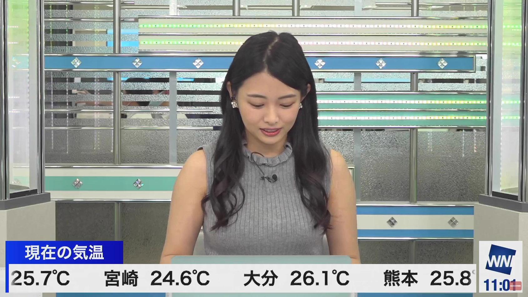 角田奈緒子_着衣巨乳_横乳_ノースリーブ_02