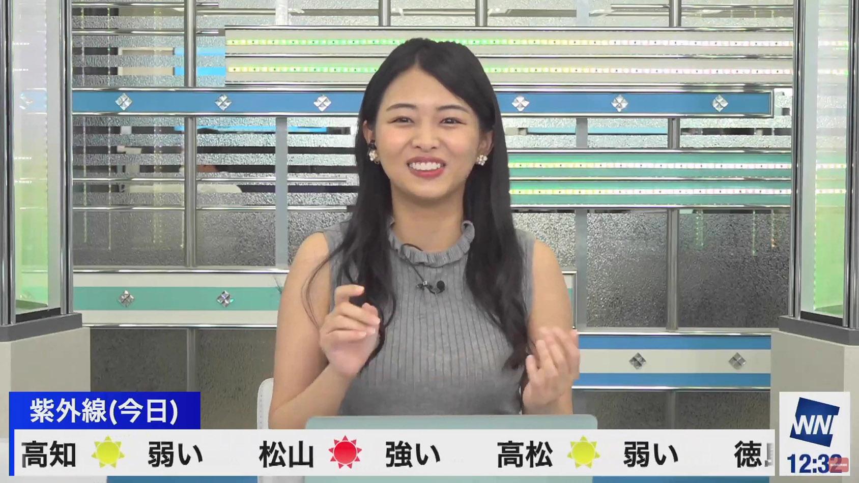 角田奈緒子_着衣巨乳_横乳_ノースリーブ_14