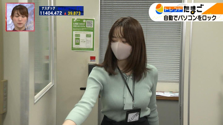 森香澄_女子アナ_着衣巨乳_トレンドたまご_19