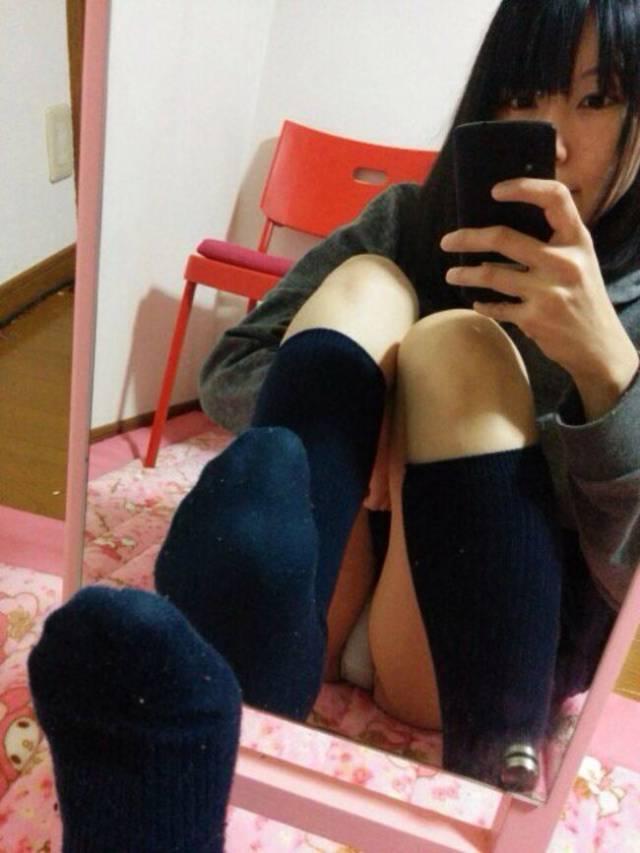 自撮り_JK_制服_エロ画像_07