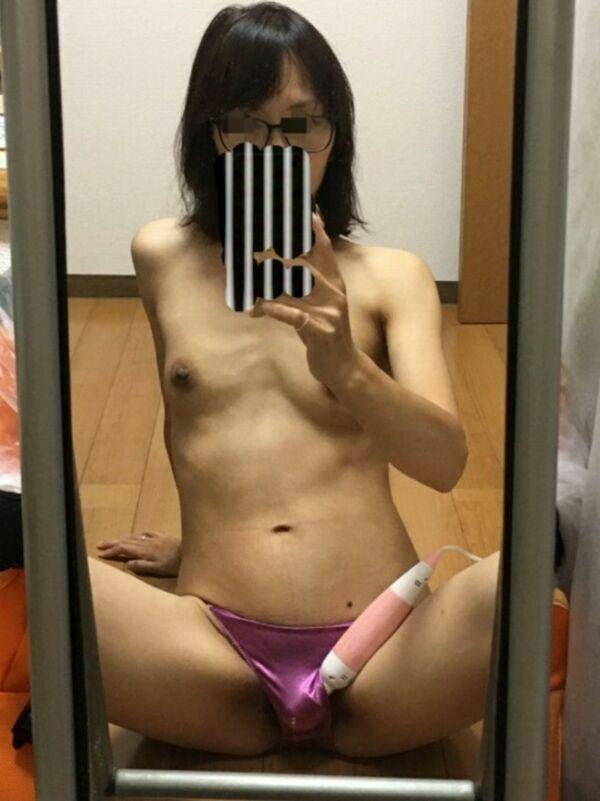 自撮り_熟女_素人_エロ画像_10