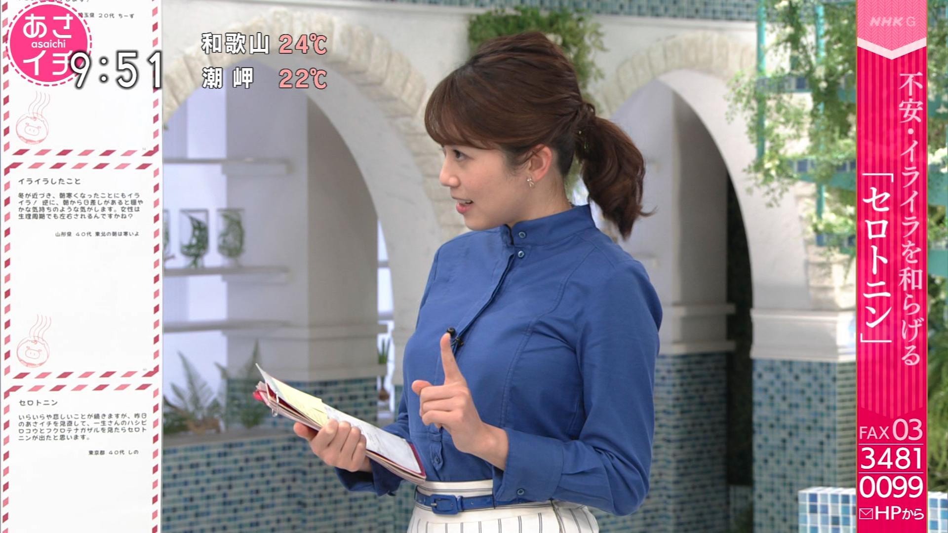 中川安奈_着衣巨乳_横乳_あさイチ_22