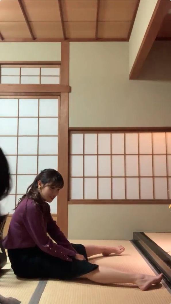 鷲見玲奈_岡副麻希_女子アナ_インスタライブ_09