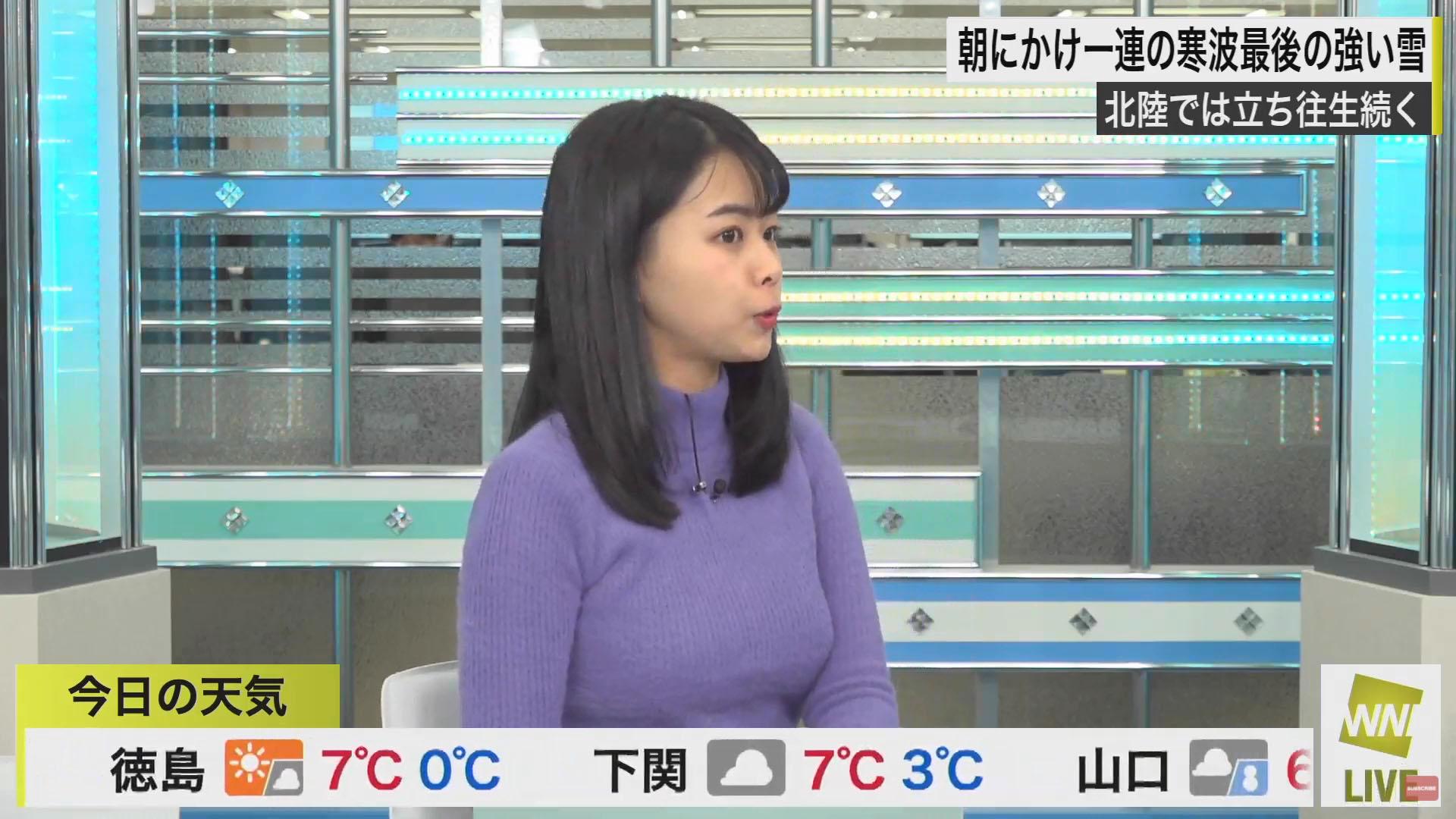 角田奈緒子_キャスター_着衣巨乳_エロ画像_03