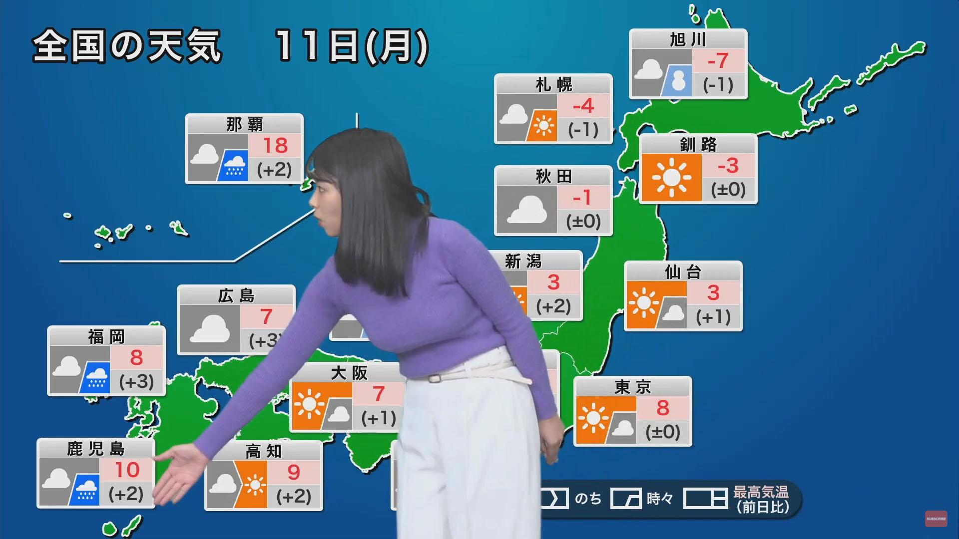 角田奈緒子_キャスター_着衣巨乳_エロ画像_11