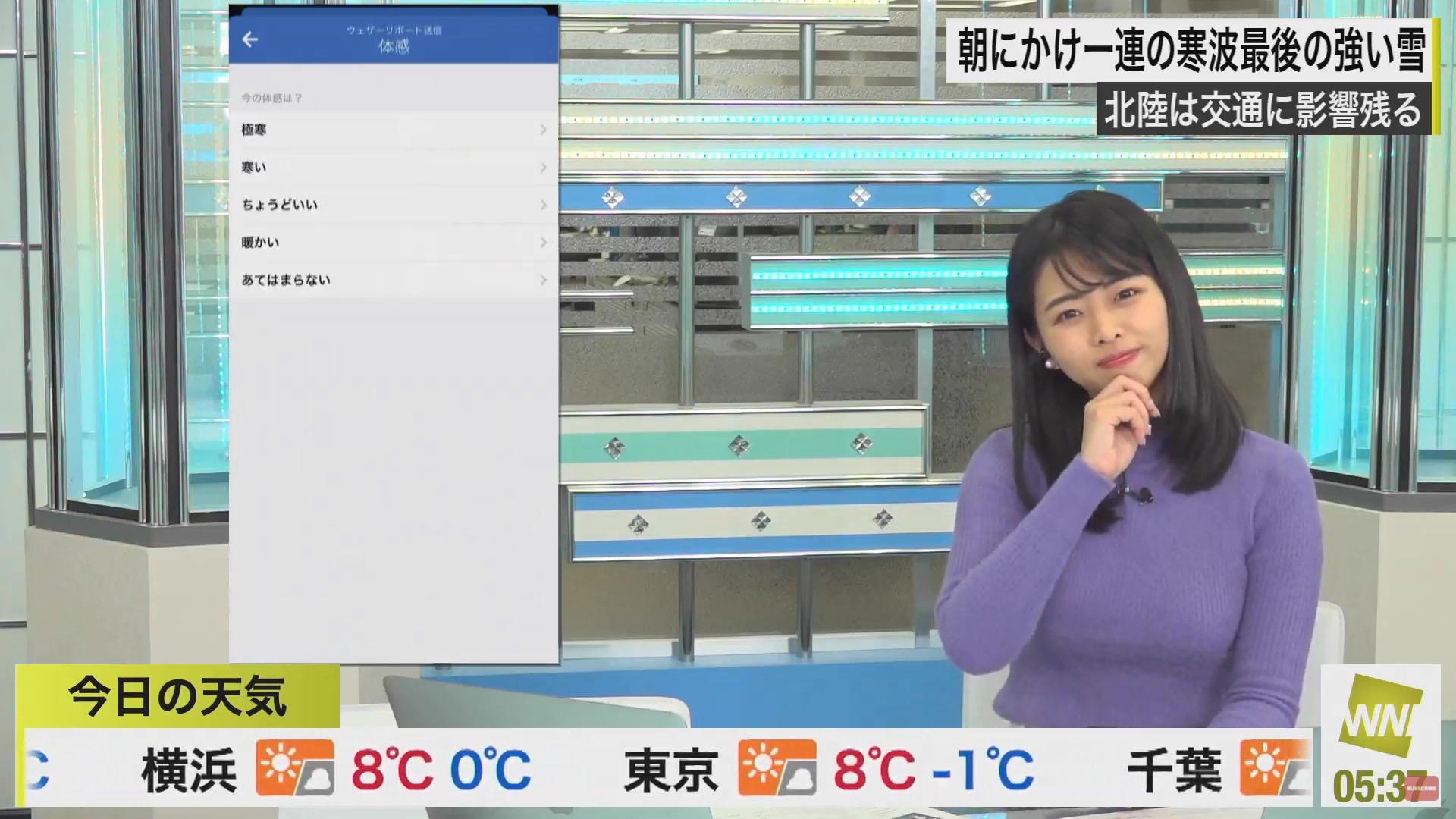 角田奈緒子_キャスター_着衣巨乳_エロ画像_17