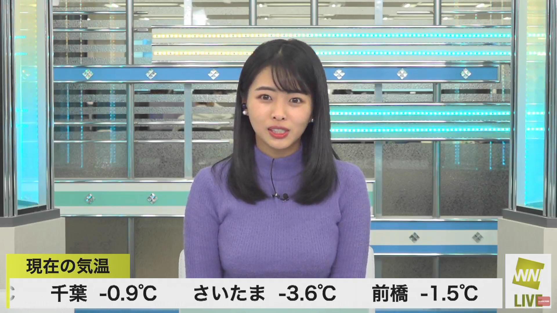 角田奈緒子_キャスター_着衣巨乳_エロ画像_24