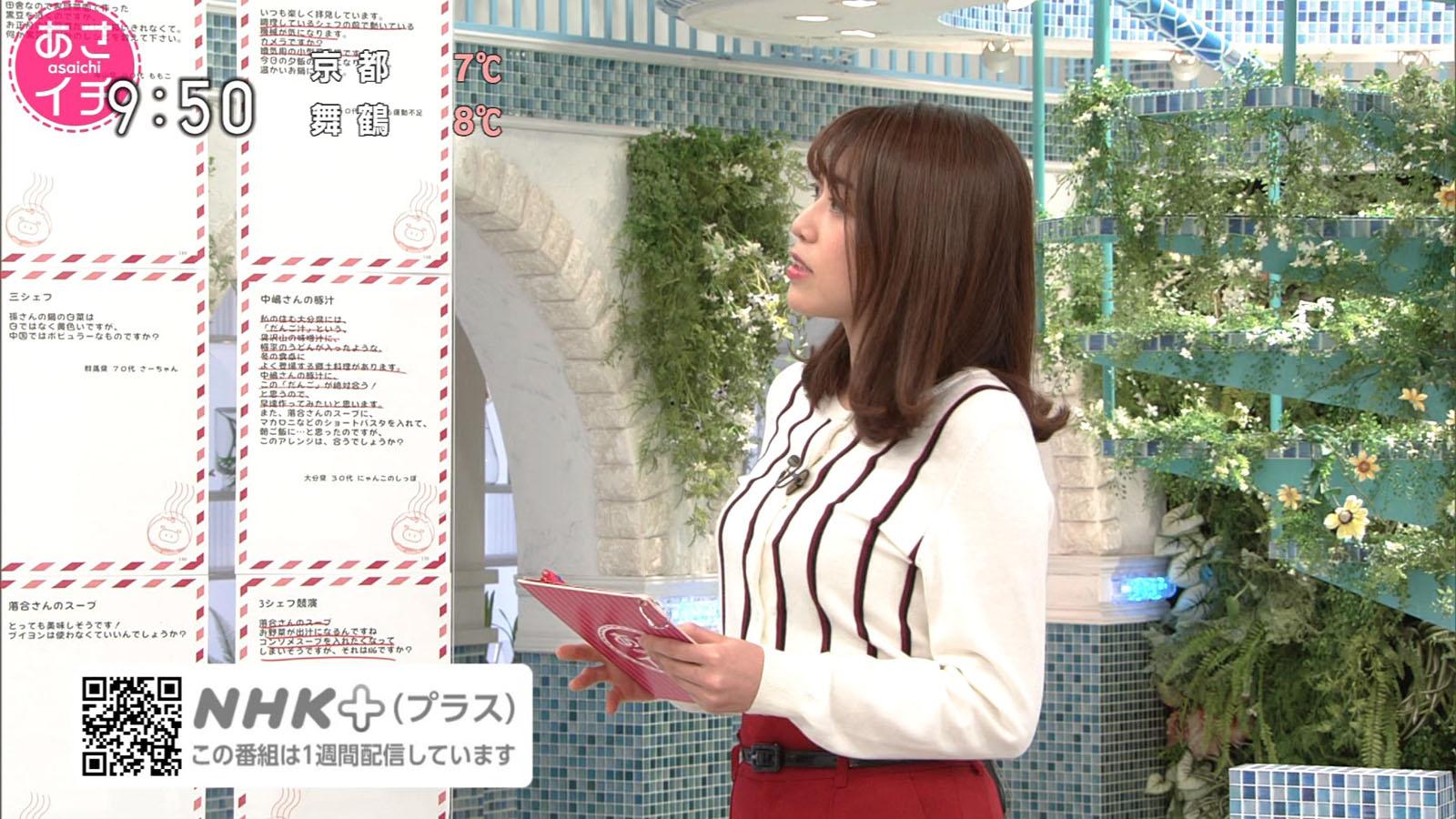 中川安奈_おっぱい_巨乳_横乳_あさイチ_10