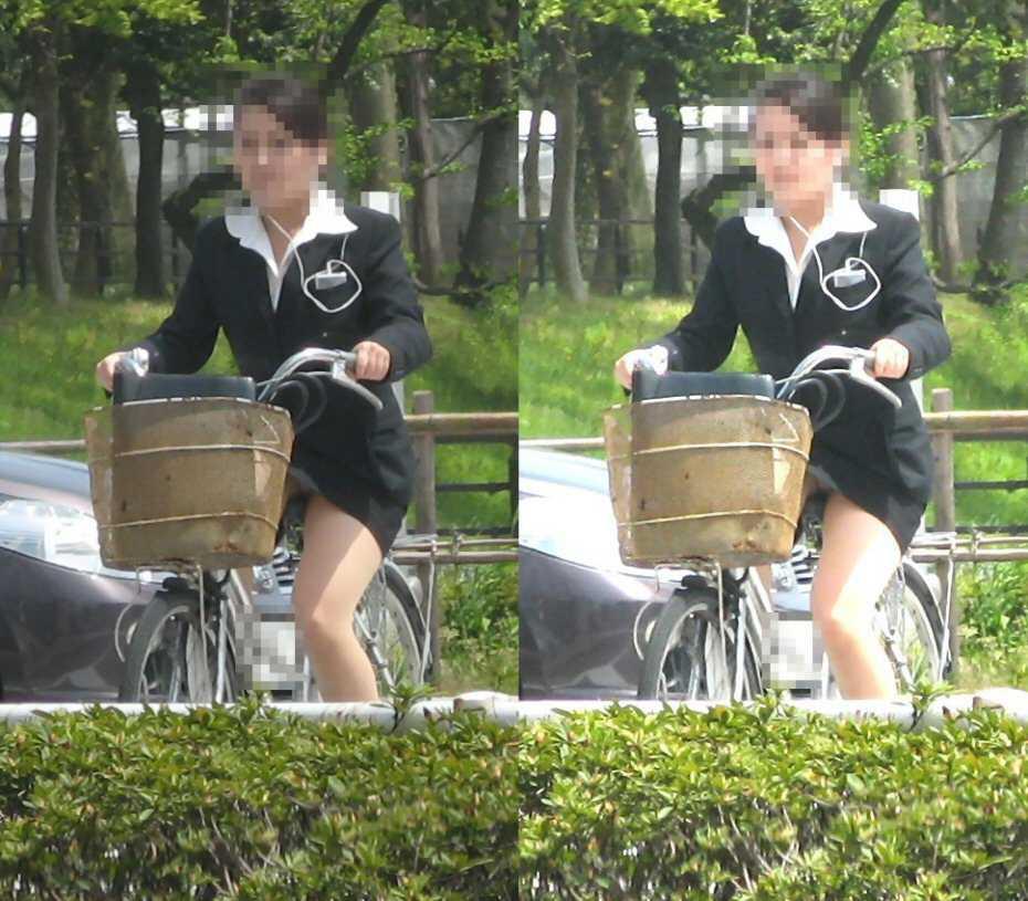 OL_自転車_パンチラ_盗撮_エロ画像_12