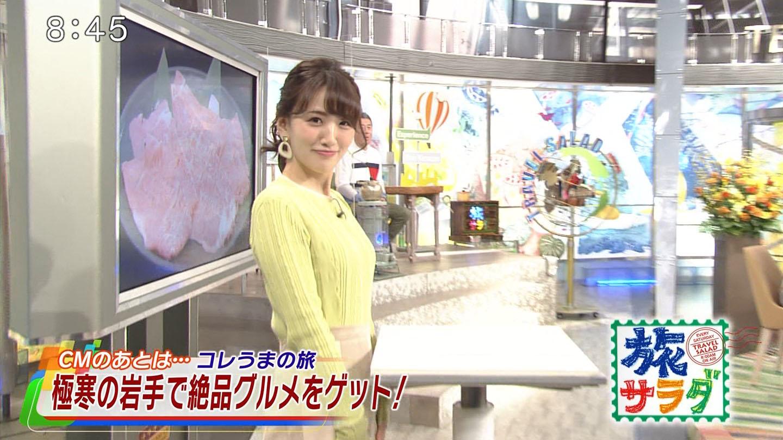 東留伽_女子アナ_横乳_旅サラダ_02