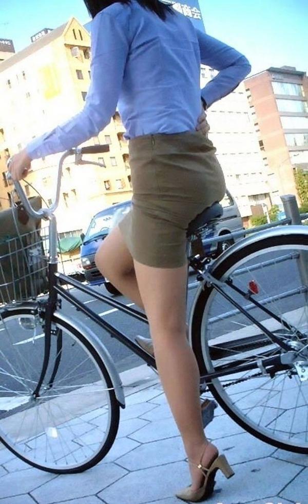 OL_美脚_自転車_盗撮_エロ画像_19